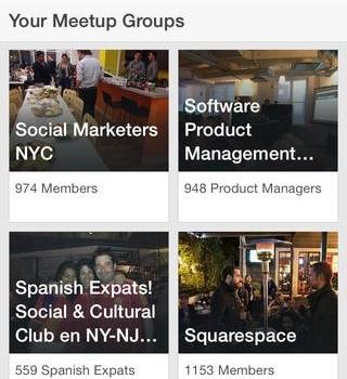 Meetup Ekran Görüntüleri - 2