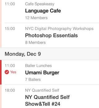 Meetup Ekran Görüntüleri - 3