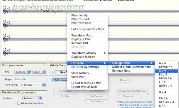 Melody Generator Ekran Görüntüleri - 1
