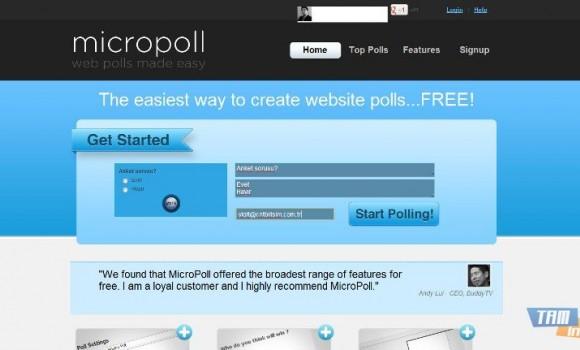 Micropoll Ekran Görüntüleri - 2