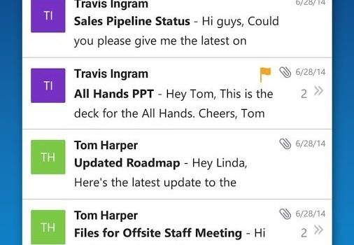 Microsoft Outlook Ekran Görüntüleri - 4