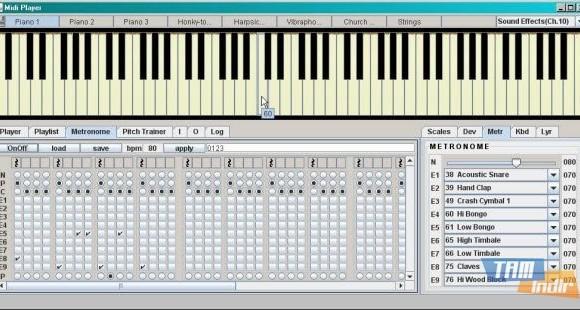 Midi Player Tool Ekran Görüntüleri - 1