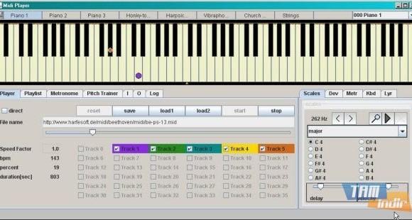 Midi Player Tool Ekran Görüntüleri - 2