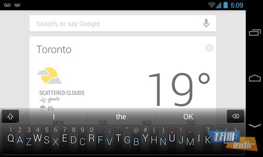 Minuum Keyboard Ekran Görüntüleri - 1