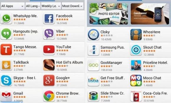 MoboMarket Lite Ekran Görüntüleri - 1