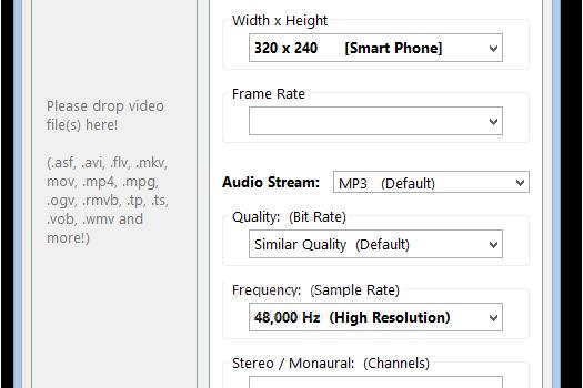 Moo0 VideoConverter Ekran Görüntüleri - 1