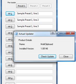 Multi Clipboard Ekran Görüntüleri - 2