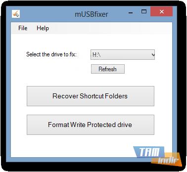mUSBfixer Ekran Görüntüleri - 1