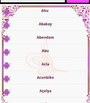 Müslüman Bebek İsimleri Ekran Görüntüleri - 2