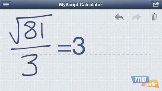 MyScript Calculator Ekran Görüntüleri - 5