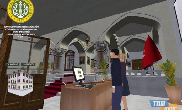 Nadir Eserler Kütüphanesi Simülasyonu Ekran Görüntüleri - 5