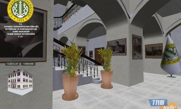 Nadir Eserler Kütüphanesi Simülasyonu Ekran Görüntüleri - 4