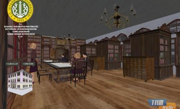 Nadir Eserler Kütüphanesi Simülasyonu Ekran Görüntüleri - 2
