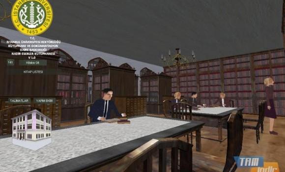 Nadir Eserler Kütüphanesi Simülasyonu Ekran Görüntüleri - 1