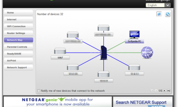 NETGEAR Genie Ekran Görüntüleri - 1