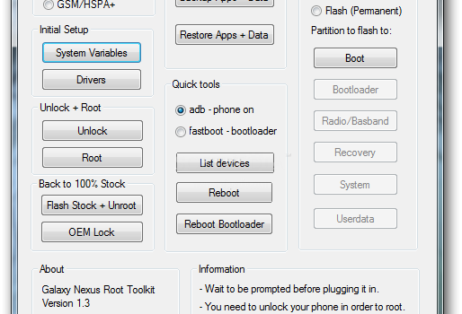 Nexus Root Toolkit Ekran Görüntüleri - 1