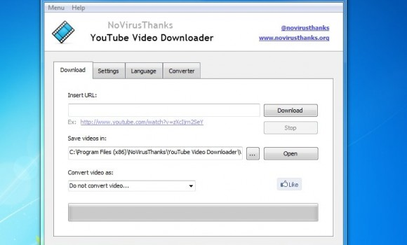 NoVirusThanks YouTube Video Downloader Ekran Görüntüleri - 1