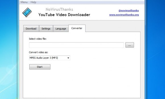 NoVirusThanks YouTube Video Downloader Ekran Görüntüleri - 2