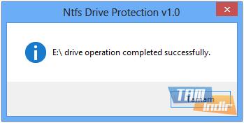 Ntfs Drive Protection Ekran Görüntüleri - 1
