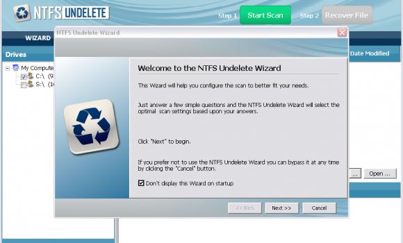 NTFS Undelete Ekran Görüntüleri - 2