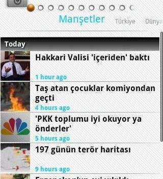 NTVMSNBC Mobile Ekran Görüntüleri - 1