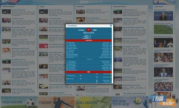 NTVSpor.net Ekran Görüntüleri - 1