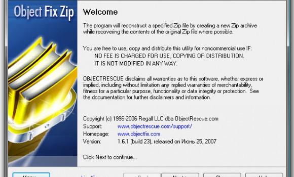 Object Fix Zip Ekran Görüntüleri - 1