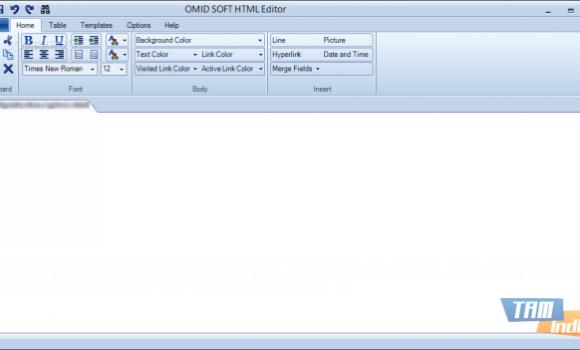 OMID SOFT HTML Editor Ekran Görüntüleri - 1