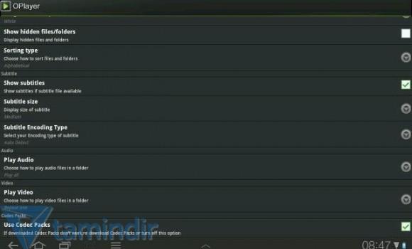OPlayer Lite Ekran Görüntüleri - 1