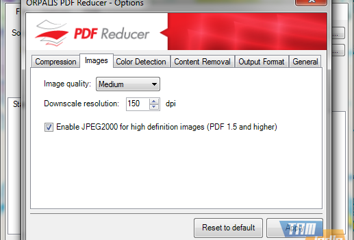 ORPALIS PDF Reducer Free Ekran Görüntüleri - 1