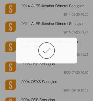 ÖSYM Mobil Ekran Görüntüleri - 4