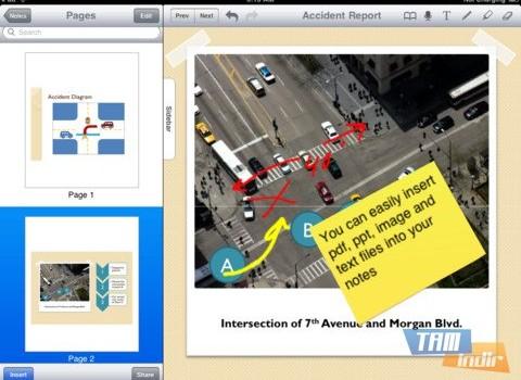 PaperPort Notes Ekran Görüntüleri - 1
