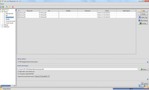 PDFsam Basic Ekran Görüntüleri - 2