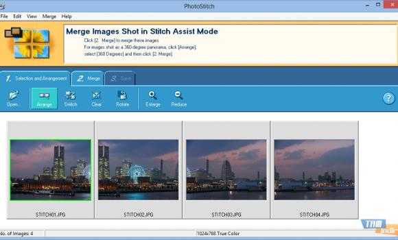 PhotoStitch Ekran Görüntüleri - 1