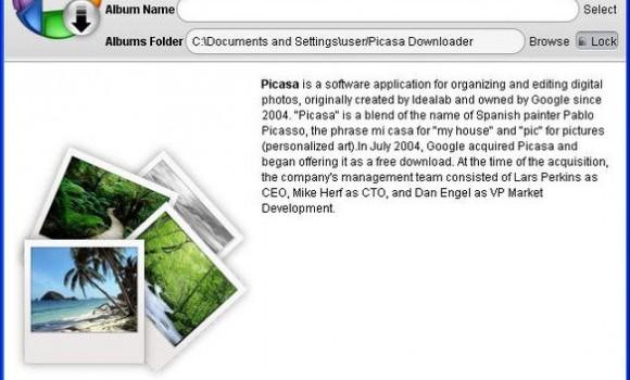 Picasa Album Downloader Ekran Görüntüleri - 2