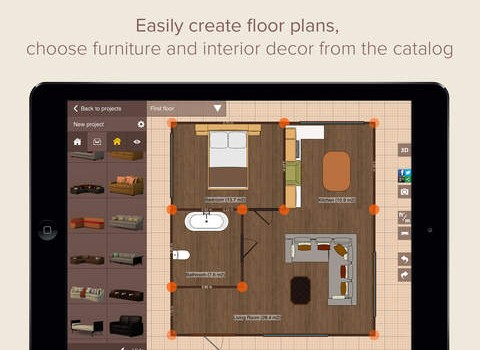 Planner 5D Ekran Görüntüleri - 1
