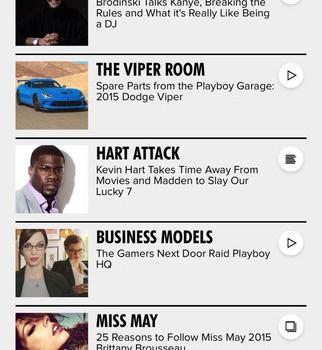 Playboy NOW Ekran Görüntüleri - 4
