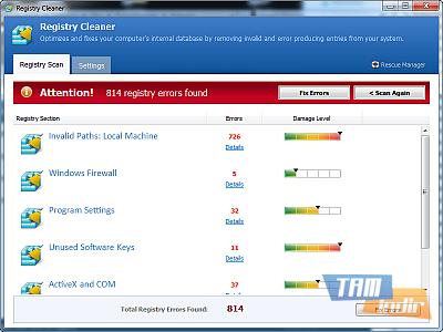 Pointstone Registry Cleaner Ekran Görüntüleri - 1