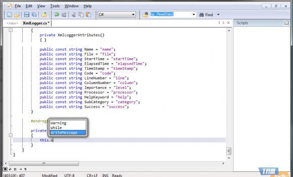 Programmer's Notepad Ekran Görüntüleri - 2