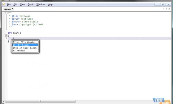 Programmer's Notepad Ekran Görüntüleri - 1