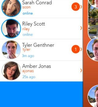 React Messenger Ekran Görüntüleri - 1