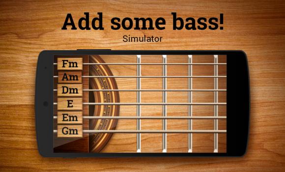 Real Bass Guitar Simulator Ekran Görüntüleri - 1