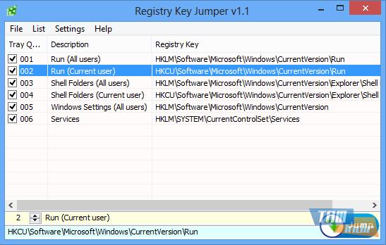 Registry Key Jumper Ekran Görüntüleri - 5