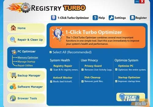 Registry Turbo Ekran Görüntüleri - 1