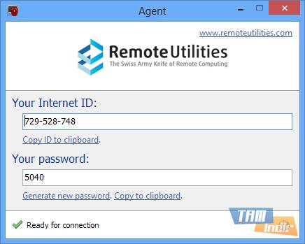 Remote Utilities Free Edition Ekran Görüntüleri - 5