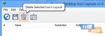 Restore Desktop Icon Layouts Ekran Görüntüleri - 2