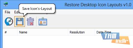 Restore Desktop Icon Layouts Ekran Görüntüleri - 5