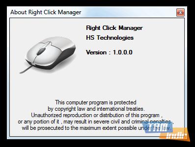 Right Click Manager Ekran Görüntüleri - 1