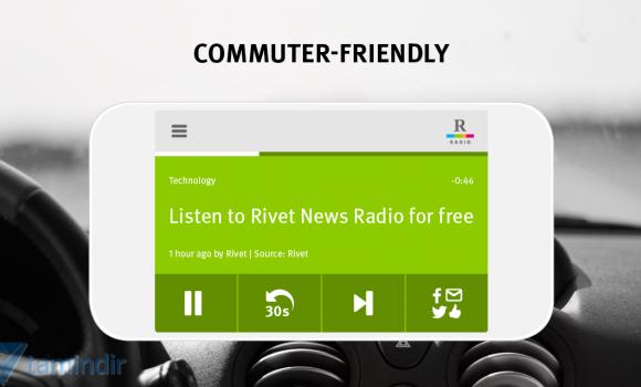 Rivet News Radio Ekran Görüntüleri - 3