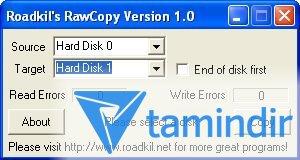 Roadkil's Raw Copy Ekran Görüntüleri - 1